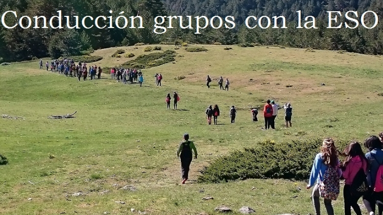 Conducción de grupos por el Parque Nacional