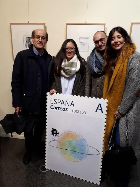 Curso 2017-2018: Concurso Nacional de Diseño de Sellos de Correos.