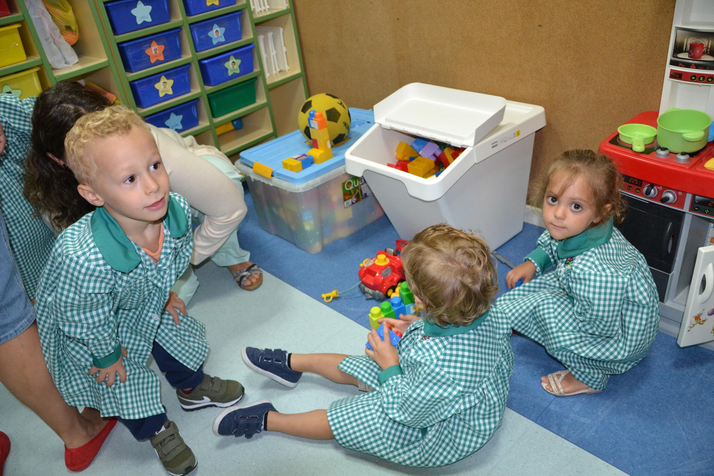 educacion infantil niños jugando