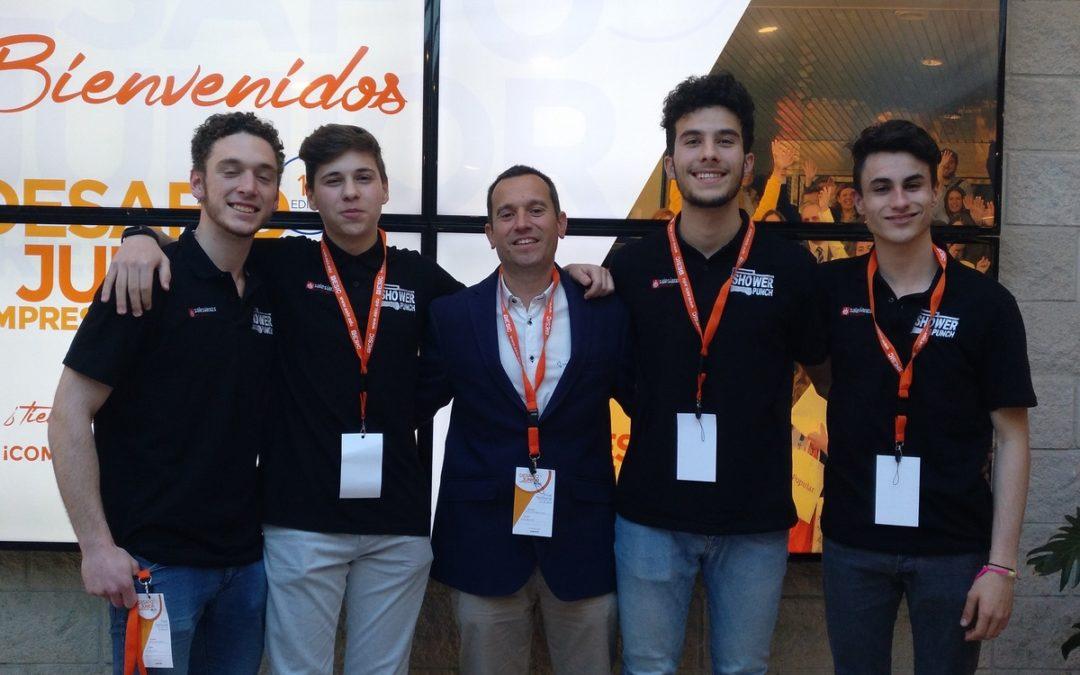 Curso 2018-2019: Alumnos de 2ºBachillerato consiguen el tercer puesto en el concurso de ideas de negocios organizado por ESIC.