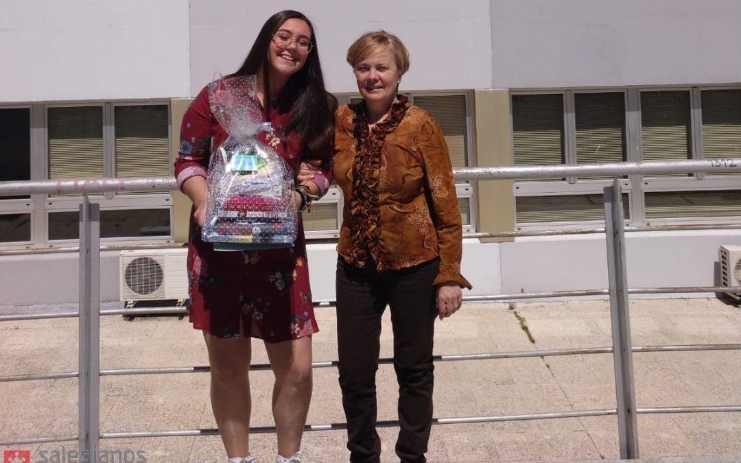 """Curso 2018-2019: Alumna de 4ºESO ganadora del concurso de microrrelatos organizado por la Universidad Autónoma """"El planeta de los signos 2019"""""""