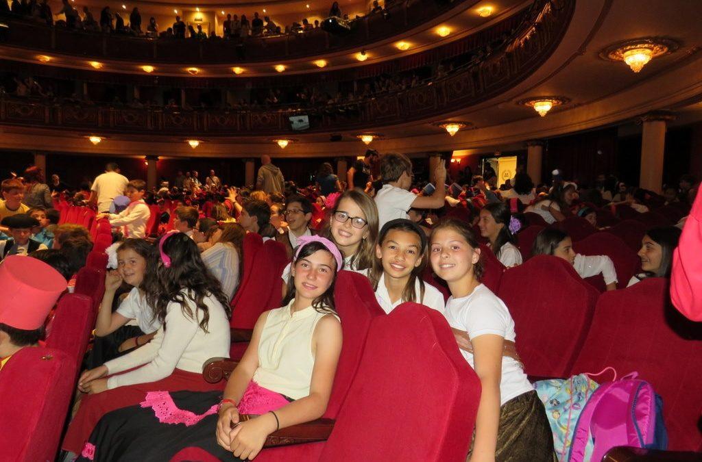 5º y 6º de Primaria participan en la ópera «Carmen».