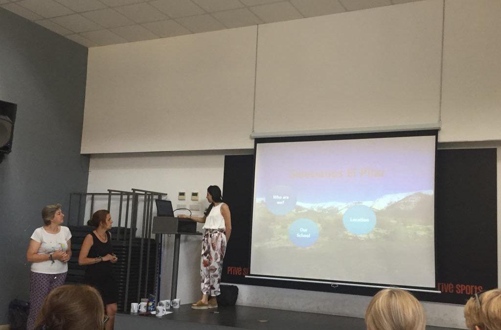 Formacion de profes Erasmus Plus: Belén Acero y Loreto López en Chipre