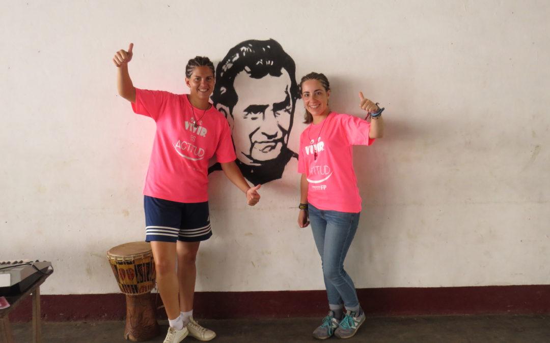 Dos Profesoras de Salesianos El Pilar,Voluntariado en Ebolowa, Camerún-África Verano 2019