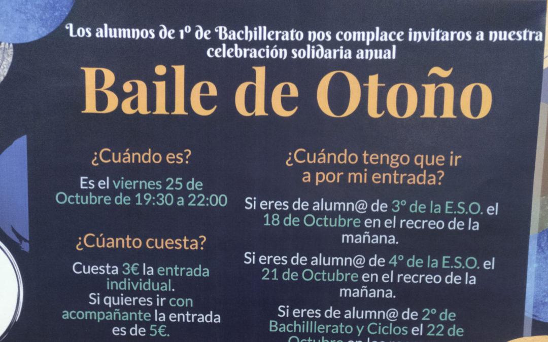 BAILE SOLIDARIO DE OTOÑO