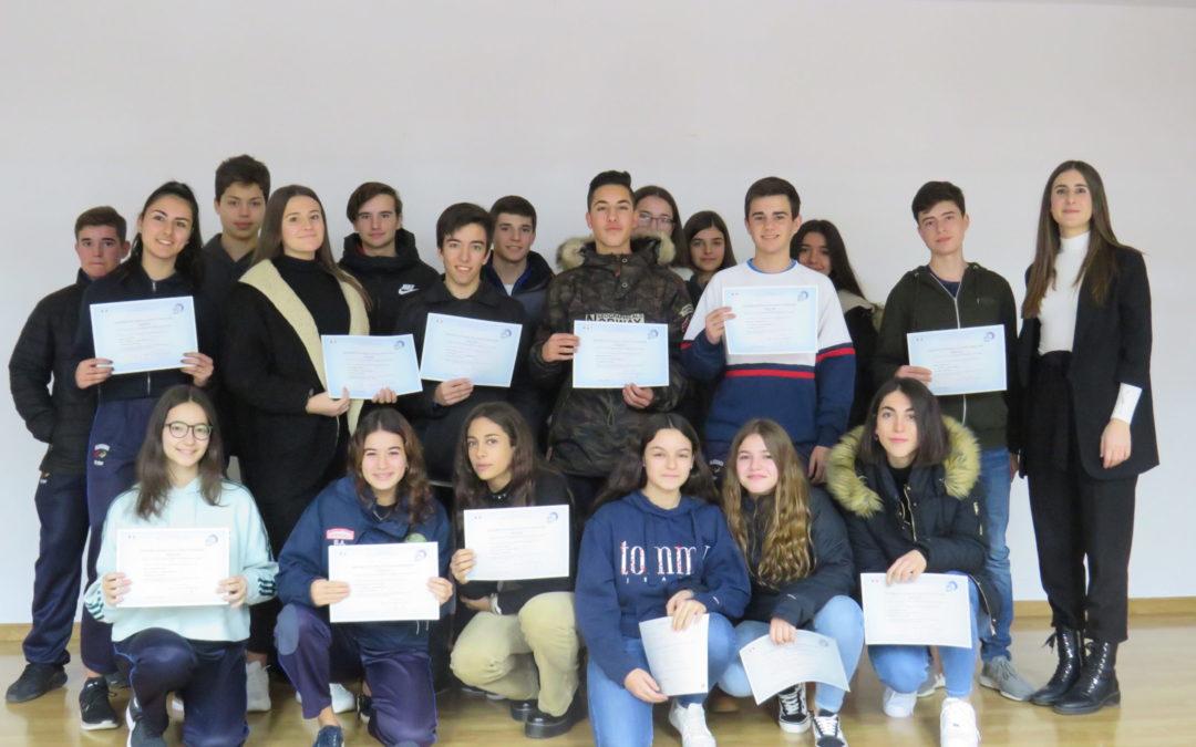 ESO-BACH: Entrega de títulos de los exámenes DELF de Francés.