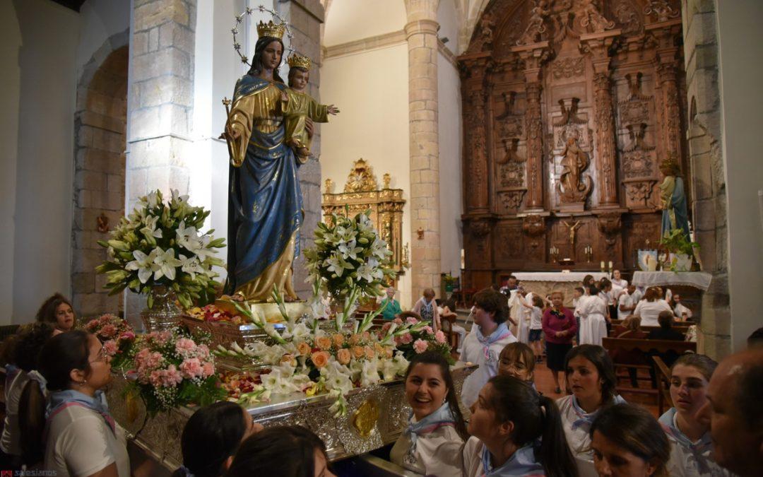 La Virgen, feliz en Soto del Real…