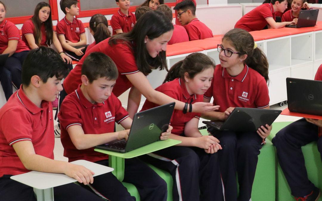 «ENREDADOS» campaña de Salesianos para acompañar a las familias en un entorno digital seguro.